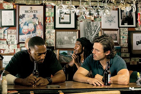 Anthony Mackie and Casey Affleck