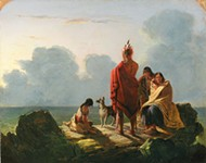 ART BY TOMPKINS HARRISON MATTESON. IMAGE COURTESY OF NEW-YORK HISTORICAL SOCIETY