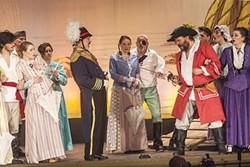 The Pirates of Penzance at Pittsburgh Savoyards - PHOTO COURTESY OF GREG KORNIDES/PITTSBURGH SAVOYARDS