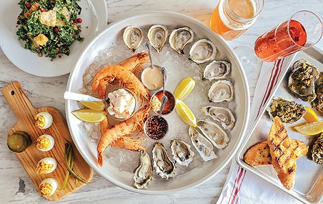 Oysters are the centerpiece of the menu. - PHOTO BY ERIN KELLY
