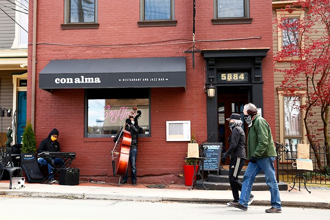 Con Alma in Shadyside - CP PHOTO: JARED WICKERHAM