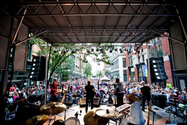 JazzFest - PHOTO COURTESY OF THE GREATER PITTSBURGH ARTS COUNCIL