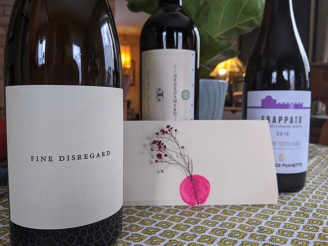 Nine O'Clock Wines February subscription box - CP PHOTO: AMANDA WALTZ