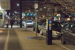 Revenue from parking meters could help pay for additional services. - PHOTO BY AARON WARNICK
