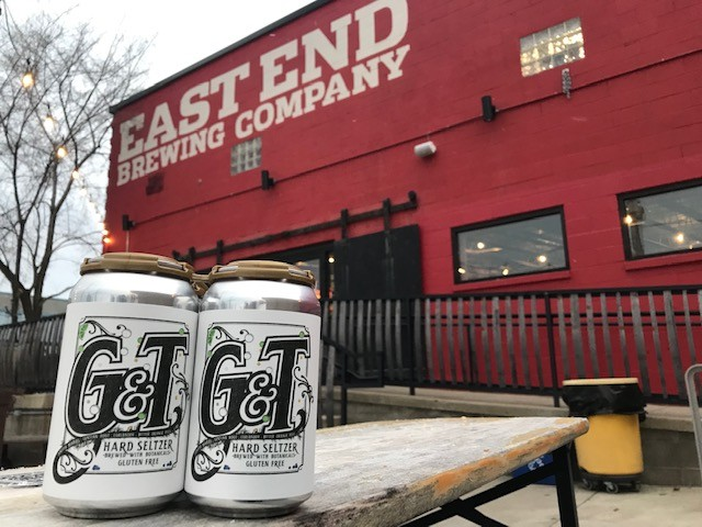 A 4-pack of East End Brewing's G&T Hard Seltzer - CP PHOTO: RYAN DETO