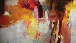"""""""Quickening (Echo)"""" (detail), by Scott Hunter"""