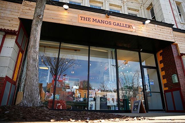Manos Gallery in Tarentum - CP PHOTO: JARED WICKERHAM