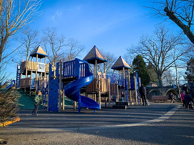 Blue Slide Park in Squirrel Hill - CP PHOTO: KIMBERLY ROONEY 高小荣