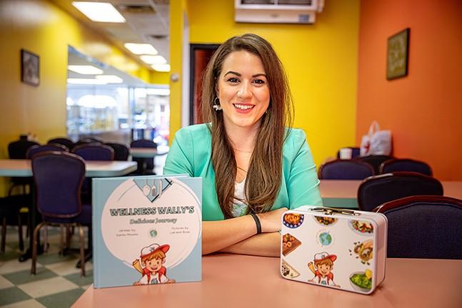 Karina Moussa, author of Wellness Wally's Delicious Journey - CP PHOTO: KAYCEE ORWIG