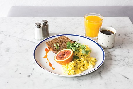 The Vandal: Soft Scramble from The Vandal: scrambled eggs with house ...