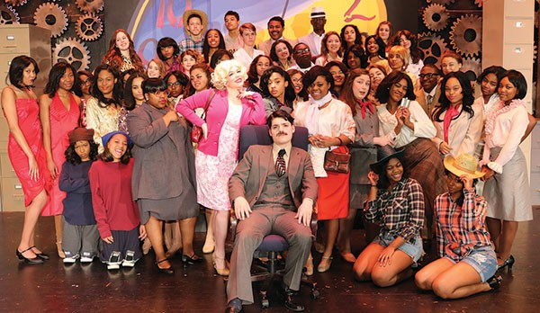 The cast of Obama Academy's 9 to 5 - PHOTO COURTESY OF KELLY MCKRELL