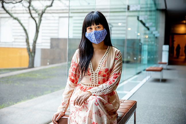 Lena Chen of SWOP PGH - CP PHOTO: KAYCEE ORWIG