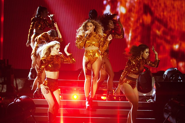 Beyonce performs during the Formation World Tour at Heinz Field on Tue., May 31 - PHOTO COURTESY OF DANIELA VESCO/PARKWOOD ENTERTAINMENT