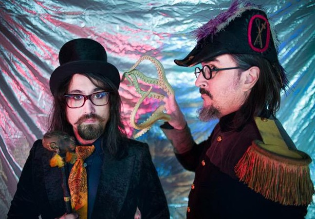 Sean Lennon and Les Claypool - PHOTO COURTESY OF CHARLOTTE KEMP MUHL