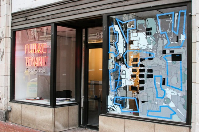 Future Tenant gallery in Downtown Pittsburgh, 2012 - PHOTO: FUTURE TENANT