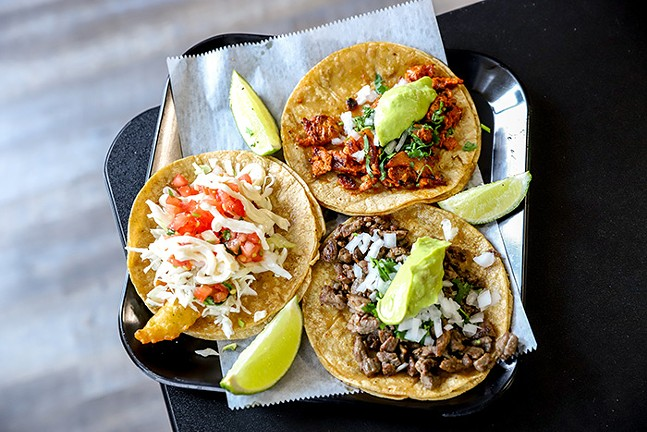 A selection of tacos from California Taco Shop - CP PHOTO: KAYCEE ORWIG