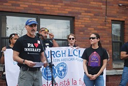 Guillermo Perez, of the Pittsburgh chapter of Labor Council for Latin American Advancement - PHOTO BY RYAN DETO