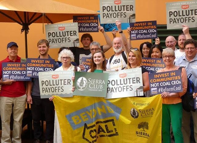 Activists are calling for coal reform - PHOTO BY REBECCA ADDISON
