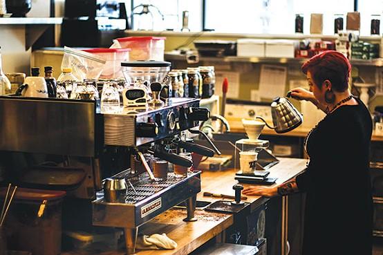 Zeke's Coffee - PHOTO BY LUKE THOR TRAVIS