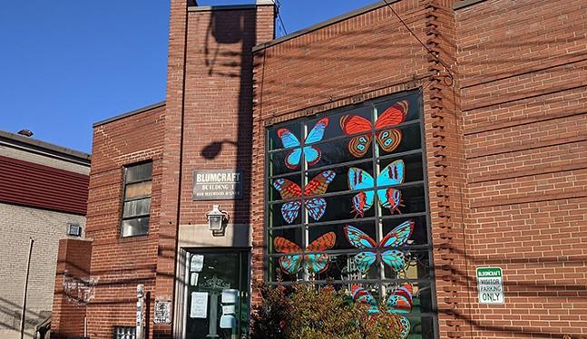 Bloomcraft Building on Melwood Avenue - CP PHOTO: AMANDA WALTZ