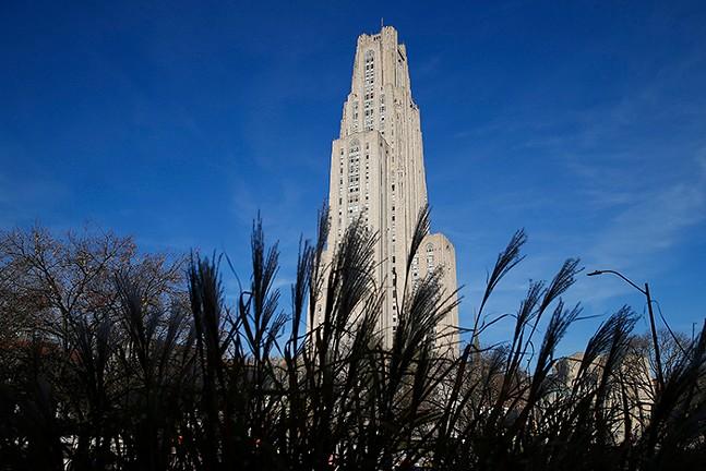 The University of Pittsburgh campus - CP PHOTO: JARED WICKERHAM