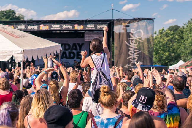 Mayday Parade perform July 15 at First Niagara Pavillion. - PHOTO BY AARON WARNICK