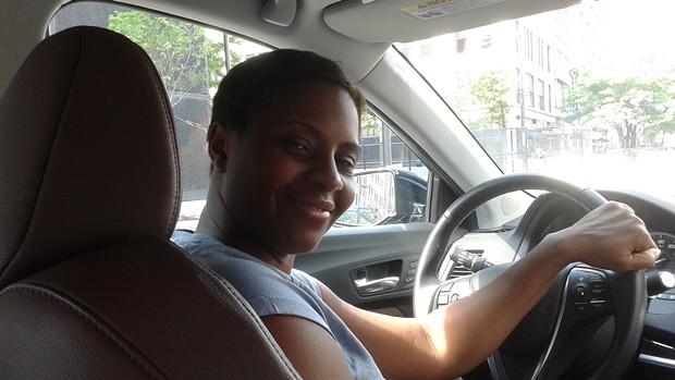 Uber Driver Lisa Rand - PITTSBURGH CITY PAPER PHOTO BY RYAN DETO