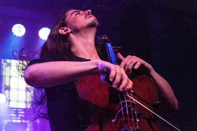 Cello Fury performs at Altar Bar as part of the 2016 Strip District Music Festival - PHOTOGRAPH BY AARON WARNICK
