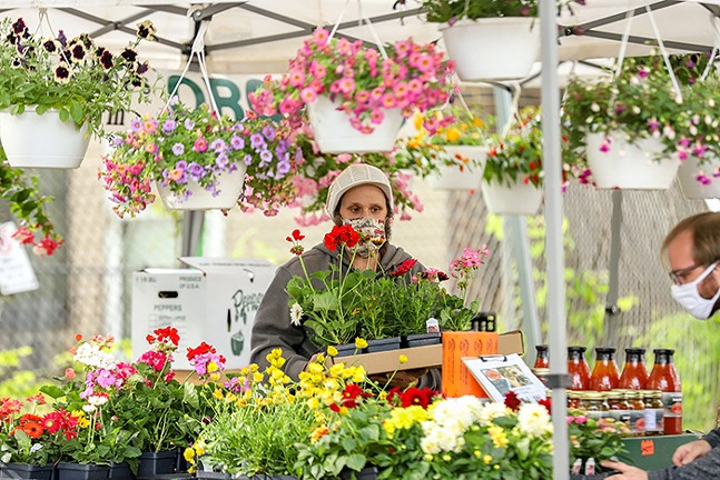The City of Pittsburgh Office of Special Events launched a farmers market in East Liberty - CP PHOTO: KAYCEE ORWIG