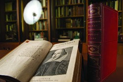 Shakespeare's First Folio, on display in Carnegie Mellon's Posner Center - PHOTO COURTESY OF JUDITH PEARSON