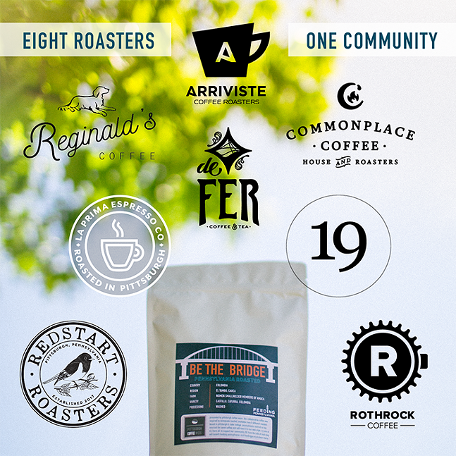 Eight local coffee roasters give their own spins on a Colombian coffee. - COURTESY OF COMMONPLACE COFFEE