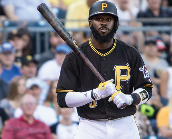 Pittsburgh Pirates infielder Josh Harrison - CP PHOTO BY LUKE THOR TRAVIS