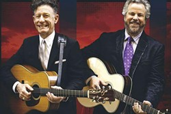 Lyle Lovett and Robert Earl Keen - PHOTO COURTESY OF TKO MARKETING