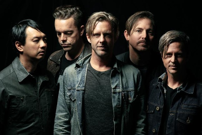 Switchfoot (Chad Butler, second from right) - PHOTO COURTESY OF CHRIS HERSHMAN