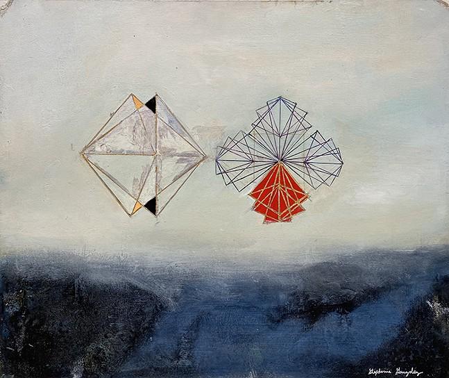 Transmutation by Stephanie Gonzalez, part of What We Know at BoxHeart Gallery - ARTWORK: STEPHANIE GONZALEZ,