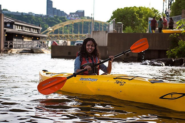 Kayaking with Venture Outdoors - PHOTO: COURTESY OF VENTURE OUTDOORS