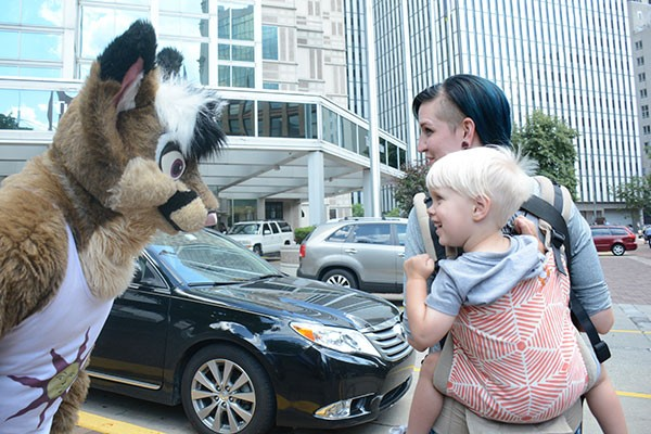 Anthrocon, winner of Best Local Annual Convention - CP PHOTO BY LUKE THOR TRAVIS