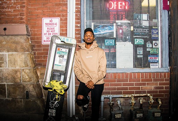 Mars Jackson, winner of Best Local Hip-Hop Performer to be the Next Mac Miller - CP PHOTO BY LUKE THOR TRAVIS