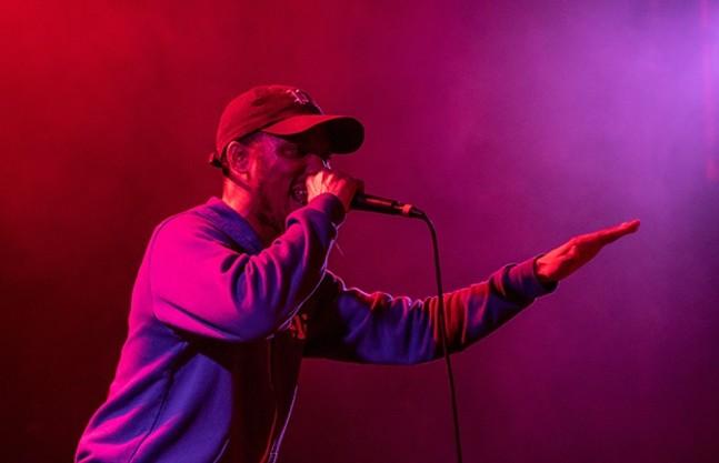 Mars Jackson on stage at Mr. Smalls - PHOTOS BY LUKE THOR TRAVIS