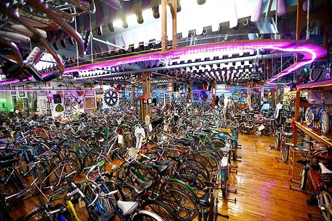 Hidden Gem Bicycle Heaven - CP PHOTO: JARED WICKERHAM