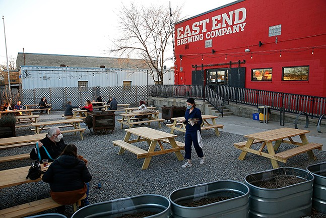 Local Fave East End Brewing - CP PHOTO: JARED WICKERHAM