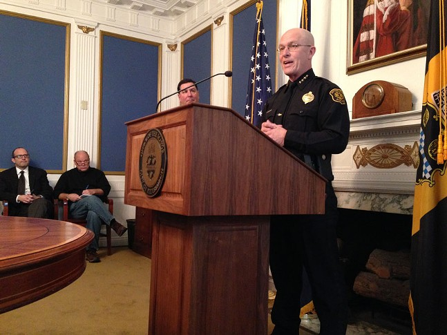 Pittsburgh Police Chief Cameron McLay - CP PHOTO BY RYAN DETO