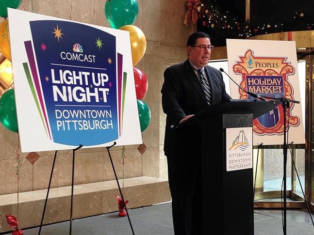 Pittsburgh Mayor Bill Peduto - CP PHOTO BY RYAN DETO