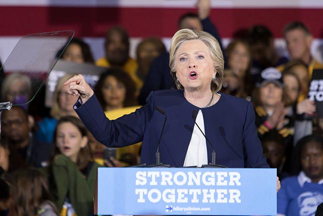 Hillary Clinton - CP PHOTO BY LUKE THOR TRAVIS