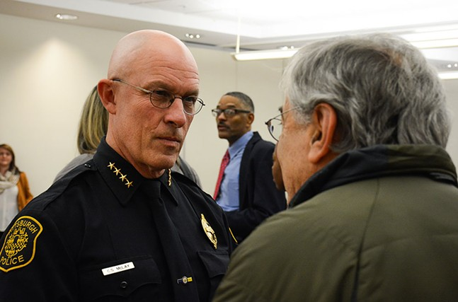 Chief Cameron McLay - CP PHOTO BY STEPHEN CARUSO