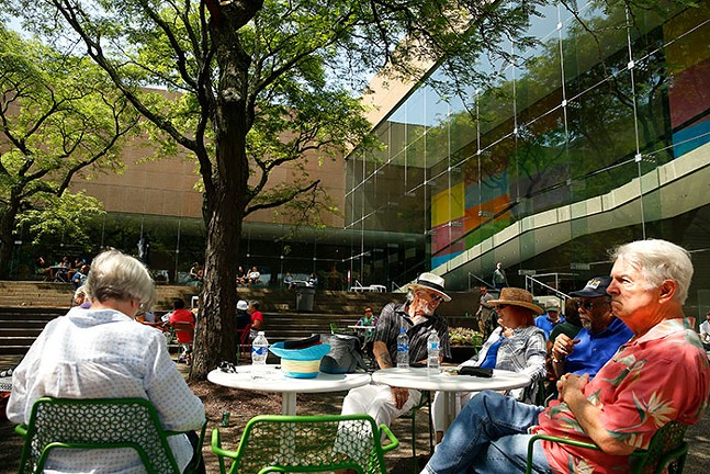 Inside Out with DJ Shoe at the Carnegie Museum of Art on Sat., June 12 - CP PHOTO: JARED WICKERHAM