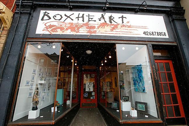 BoxHeart Gallery - CP PHOTO: JARED WICKERHAM