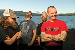 Red Fang - PHOTO COURTESY OF JAMES REXROAD