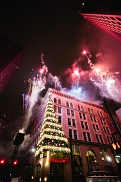 First Night fireworks - PHOTO COURTESY OF PITTSBURGH CULTURAL TRUST