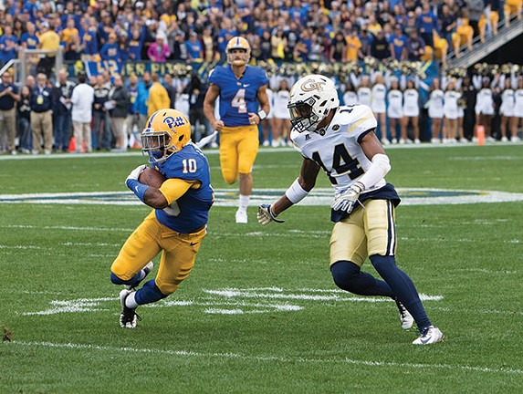 Pitt Panthers' Quadree Henderson - CP PHOTO BY LUKE THOR TRAVIS